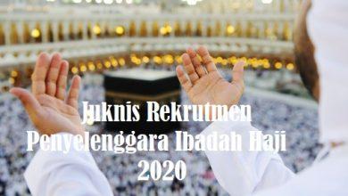 Photo of Download Juknis Rekrutmen Petugas Penyelenggara Ibadah Haji 2020 PDF