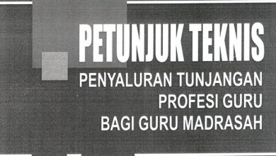 Download Juknis TPG Guru Madrasah 2020