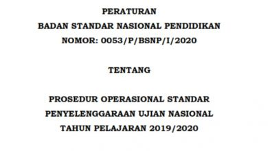 Download POS UN 2020 Revisi