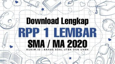 Photo of Download RPP Kimia 1 Lembar Kelas XII Polimer DOC