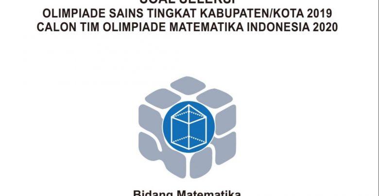 Download Soal Pembahasan KSN 2020 Matematika