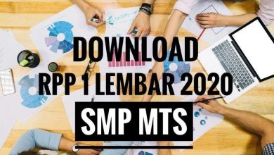 Photo of Download RPP Satu Lembar Matematika SMP MTs Tahun 2020