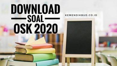 Soal OSK 2020