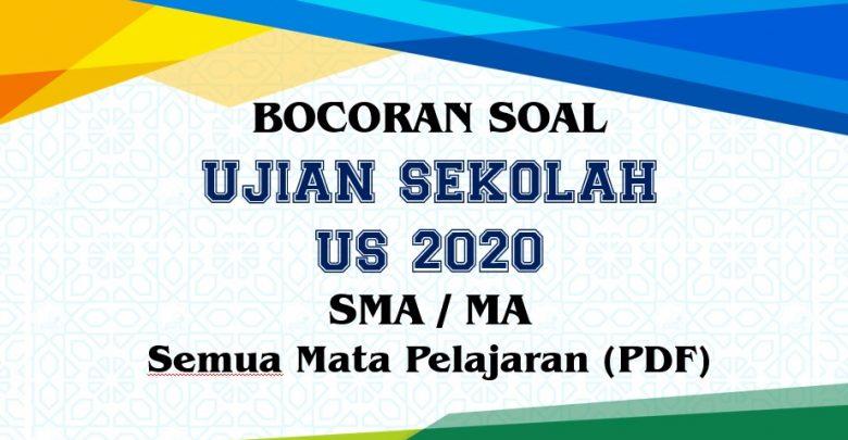 Bocoran Soal Us Geografi Tahun 2020 Pdf