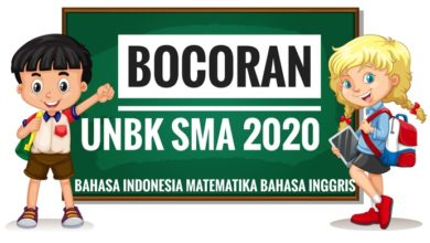Photo of Bocoran Soal UN (UNBK/UNKP) Matematika IPA 2020 PDF