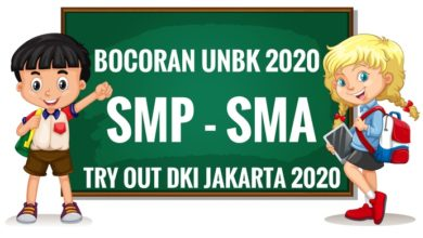 Photo of Download Soal UCUN SMP DKI 2020 Matematika PDF DOC
