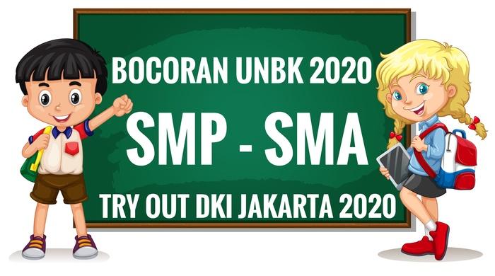 Bocoran soal UNBK SMP SMA 2020