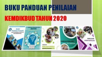 Buku Panduan Penilaian Kemdikbud Tahun 2020