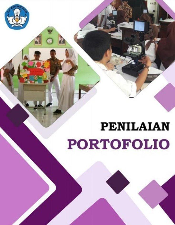 Buku Panduan Penilaian Portofolio Siswa Tahun 2020 PDF
