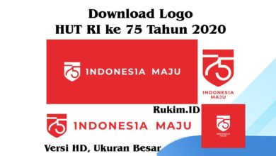 Photo of Download Logo dan Tema HUT Kemerdekaan Republik Indonesia ke 75 Tahun 2020