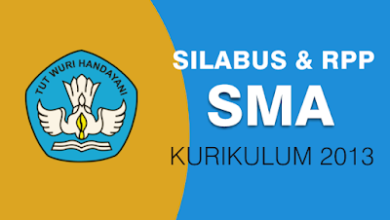 Download Silabus SMA K13 Edisi Revisi 2020