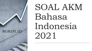 Download Soal AKM Bahasa Indonesia 2021