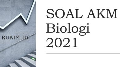 Download Soal AKM Biologi 2021
