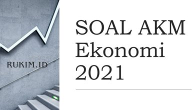 Download Soal AKM Ekonomi 2021