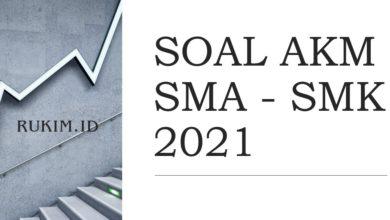 Download Soal AKM SMA 2021