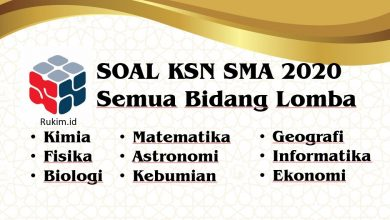 Download Soal KSN 2020