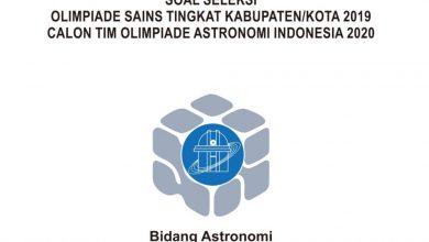 Photo of Download Soal dan Pembahasan KSN Astronomi SMA Tahun 2020 PDF
