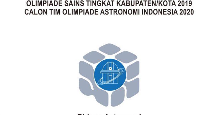 Download Soal Pembahasan KSN 2020 Astronomi