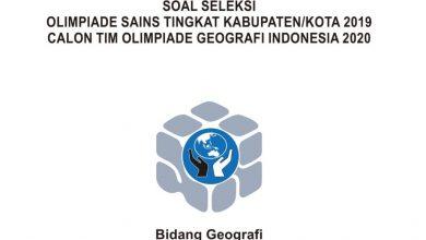Photo of Download Soal dan Pembahasan KSN Geografi SMA Tahun 2020 PDF