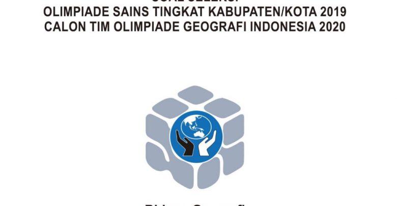 Download Soal Pembahasan KSN 2020 Geografi