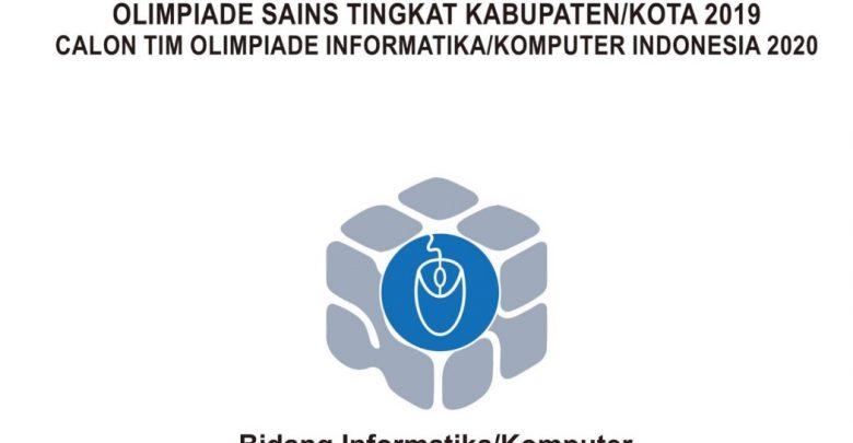 Download Soal Pembahasan KSN 2020 Informatika