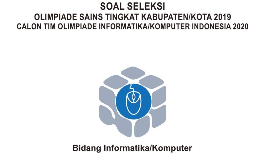 Download Soal Dan Pembahasan Ksn Informatika Komputer 2020