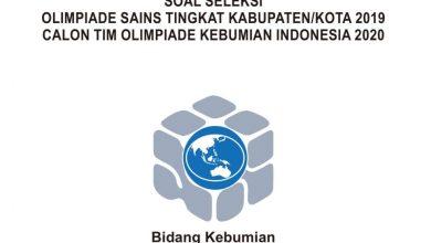 Photo of Download Soal dan Pembahasan KSN Kebumian SMA Tahun 2020 PDF