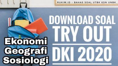 Photo of Download Soal Try Out UN DKI 2020 Ekonomi PDF DOC