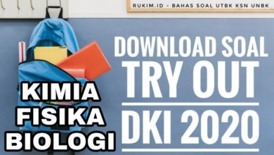 Photo of Download Soal Try Out UN DKI 2020 Fisika PDF DOC
