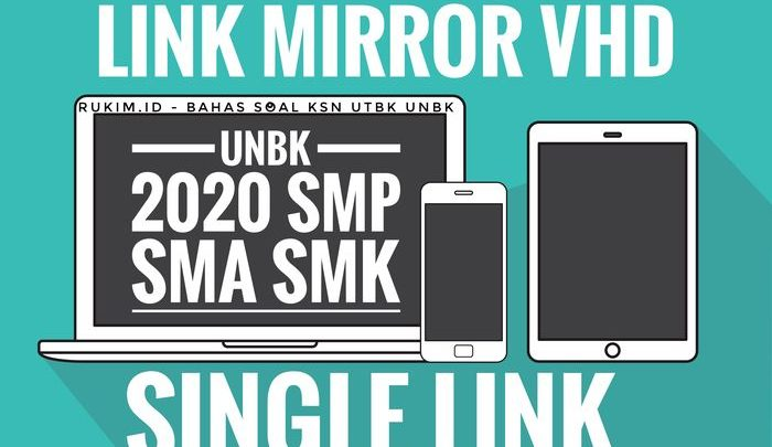 Single Link Download Mirror VHD Fresh UNBK 2020