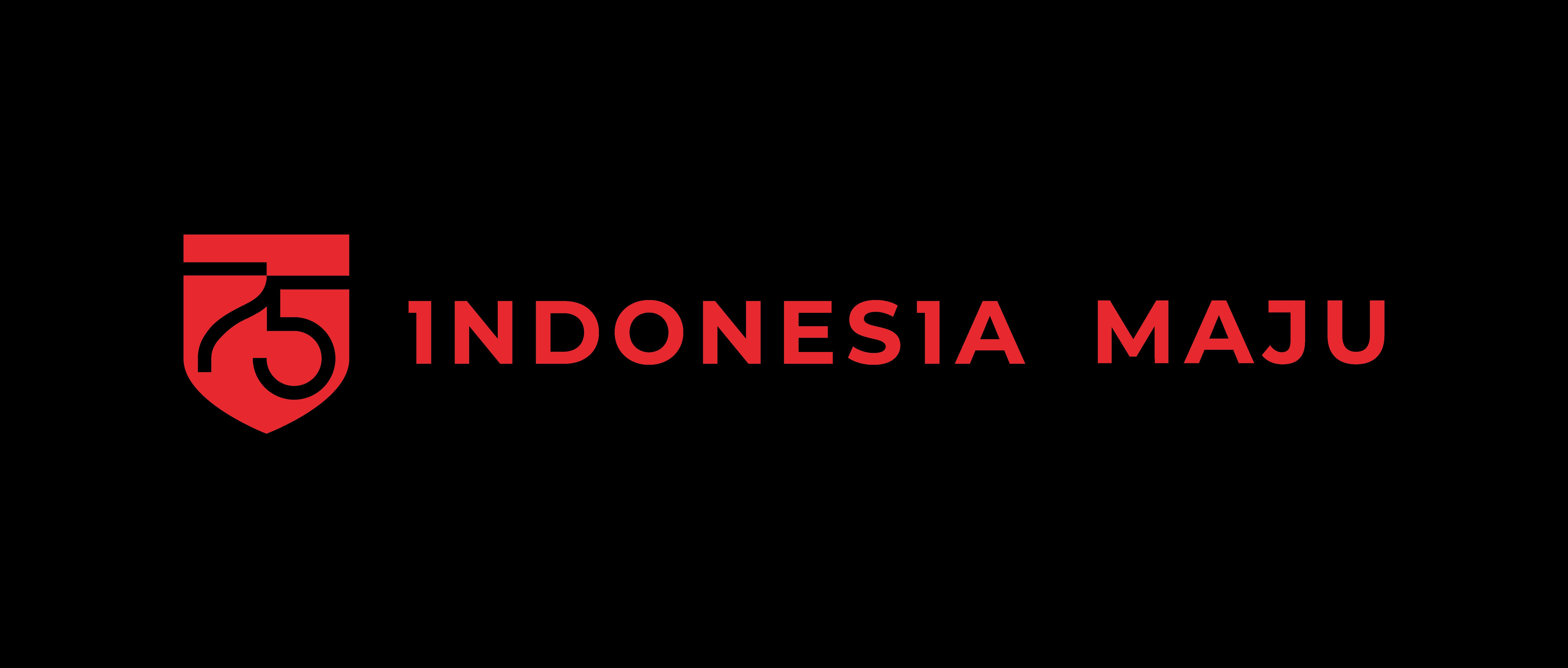 Logo HUT Kemerdekaan RI ke 75 transparan