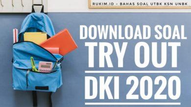 Photo of Download Soal dan Pembahasan TO DKI Jakarta 2020 PDF DOC