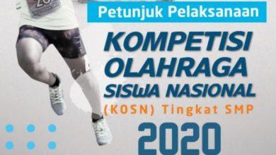 Photo of Download Juklak Juknis KOSN SMP 2020 | Petunjuk Teknis Kompetisi Olahraga Siswa Nasional 2020