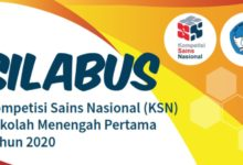 Silabus KSN 2020 Kisi-kisi KSN 2020