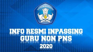 Photo of Syarat dan Formulir Pendaftaran Inpassing Guru Non PNS Tahun 2020 Resmi