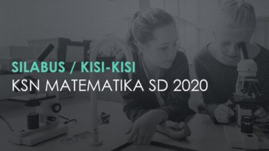 Photo of Download Silabus dan Kisi-kisi KSN Matematika SD 2020 PDF