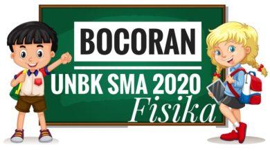 Bocoran Soal UN Fisika 2020 PDF