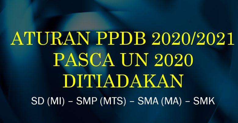 Aturan Panduan PPDB 2020 2021 pasca UN 2020 Dihapus