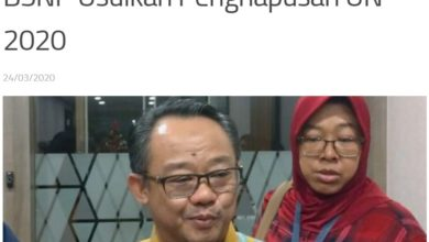 Photo of BSNP Mengusulkan UN 2020 Dihapus Jenjang SD SMP SMA SMK