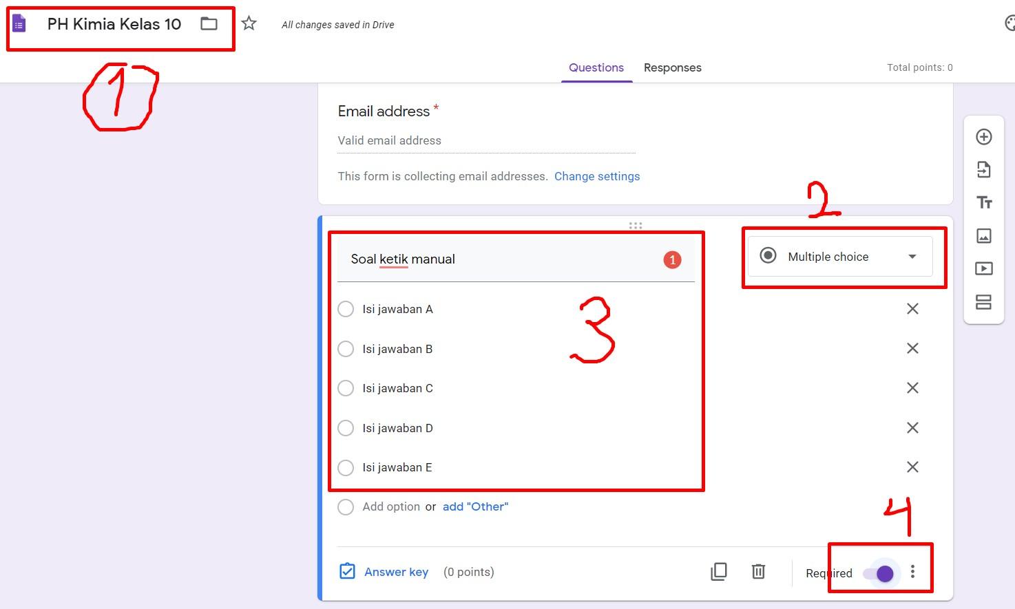 Cara Membuat Soal Online Google Form