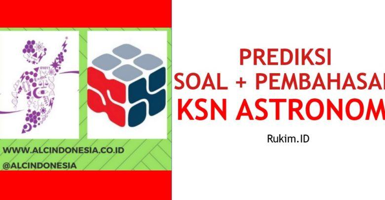 Download Prediksi Soal Pembahasan KSN OSN Astronomi PDF
