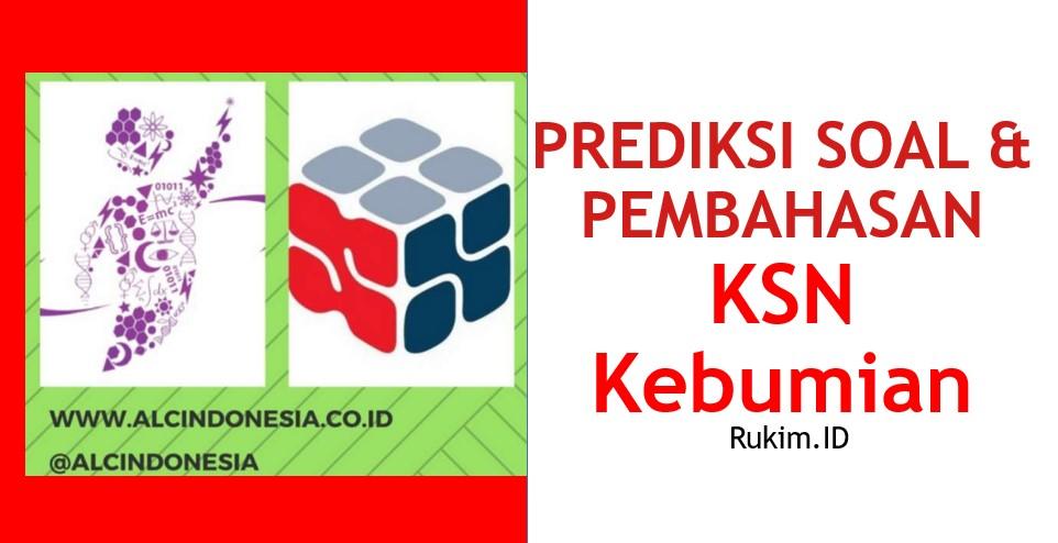 Download Prediksi Soal Pembahasan KSN OSN Kebumian PDF
