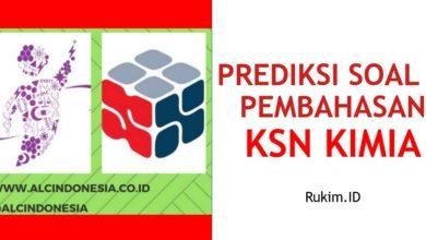Photo of Download Prediksi Soal dan Pembahasan KSN Kimia Tingkat Kabupaten/Kota/Provinsi