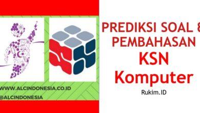 Photo of Download Prediksi Soal dan Pembahasan KSN Komputer Informatika Tingkat Kabupaten/Kota/Provinsi