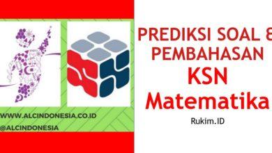 Photo of Download Prediksi Soal dan Pembahasan KSN Matematika Tingkat Kabupaten/Kota/Provinsi