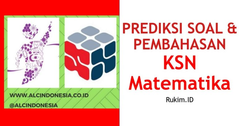 Download Prediksi Soal Pembahasan KSN OSN Matematika PDF