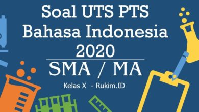 Photo of Download Soal Bahasa Indonesia PTS UTS Kelas X Semester Genap 2020 PDF
