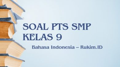Photo of Download Soal Bahasa Indonesia PTS Kelas 9 SMP Semester Genap 2020 PDF