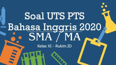 Photo of Download Soal Bahasa Inggris PTS UTS Semester Genap Kelas XI 2020 PDF