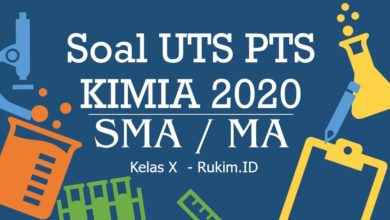 Download Soal PTS Kimia Kelas 10 PDF